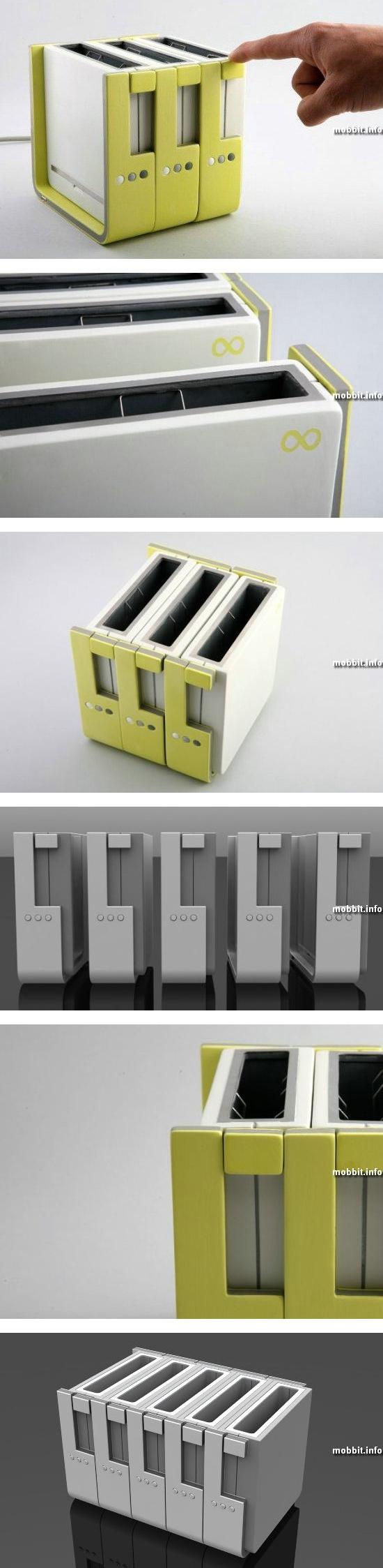 Концепт модульного тостера