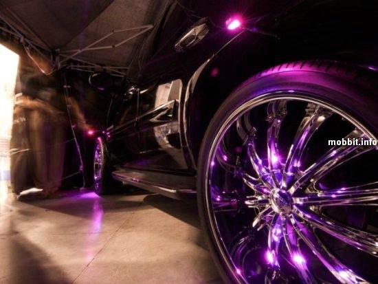 компания Motionlite продает комплект специальных светодиодов, которые сделают из колес твоей тачки настоящих...