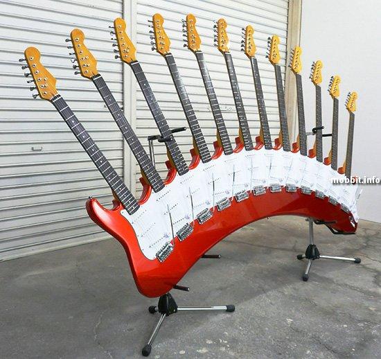 Гитара с 12-ю грифами