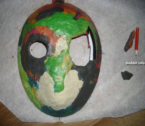Самодельная маска Джейсона из Пятницы 13-е