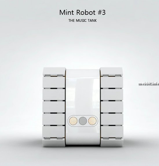Mint Robot Music Tank