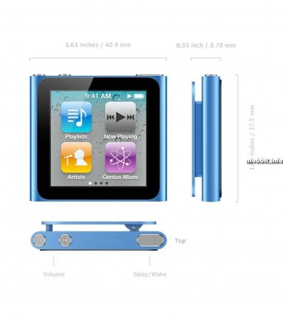 ����� iPod nano � multitouch-��������