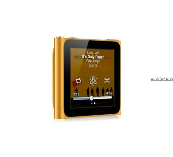 Новый iPod nano с multitouch-дисплеем