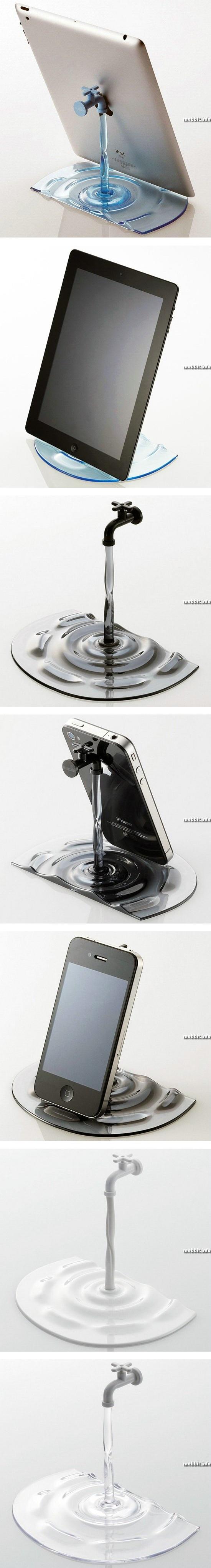 Креативная подставка для телефонов и планшетов