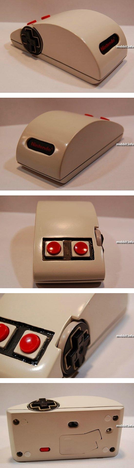 Моддинг: беспроводная мышь в стиле контроллера NES