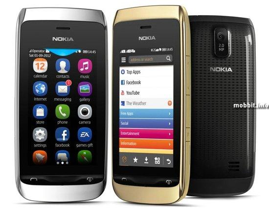 Nokia Asha 308 и Asha 309