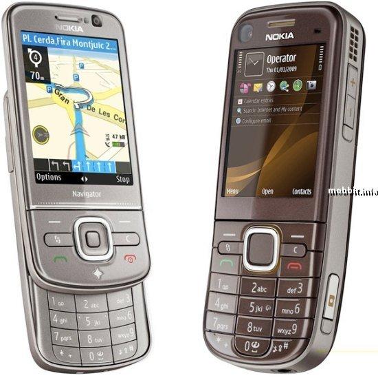 Nokia 6710 Navigator и Nokia 6720 classic