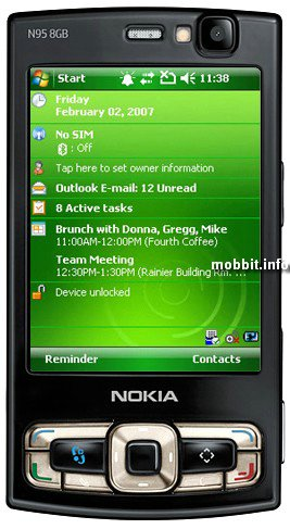 Nokia на Windows Mobile