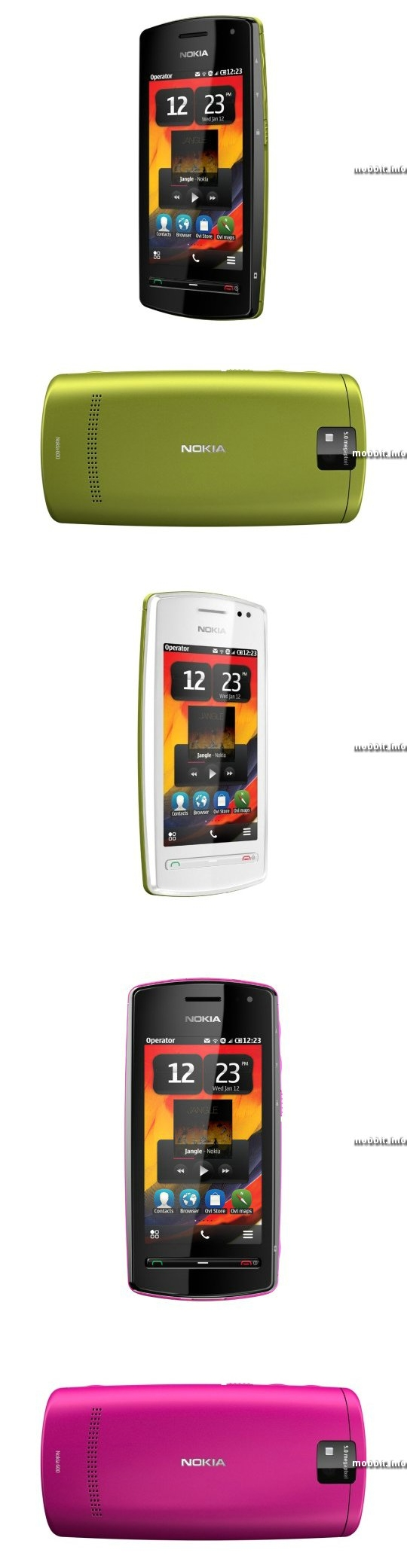 Nokia 600 (Cindy)
