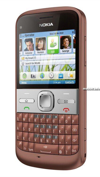 Nokia C3, C6 и E5