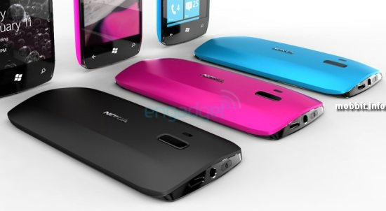 Концепты телефонов Nokia на Windows Phone 7