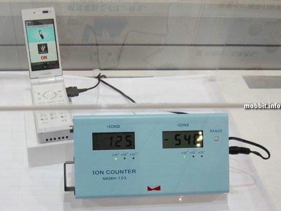 Телефоны Sharp с функцией ионизации воздуха