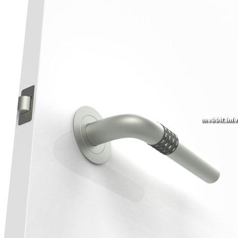 Дверная ручка с сейфовым механизмом