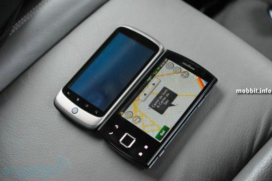 Garmin-Asus nuvifone M10 и Garmin-Asus nuvifone A50