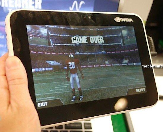 Прототип Anroid-планшета от Nvidia