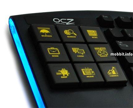 Клавиатура Sabre с OLED-клавишами