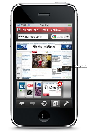 Opera Mini для пользователей iPhone