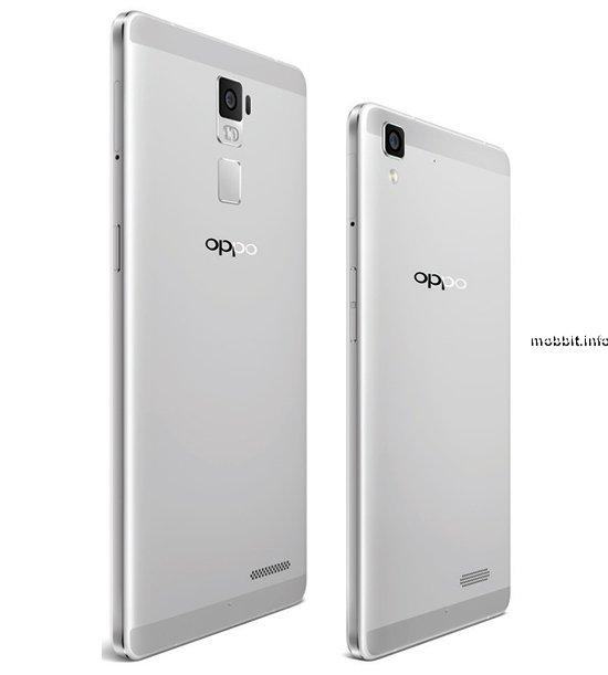 Необъявленные смартфоны Oppo R7 и R7 Plus