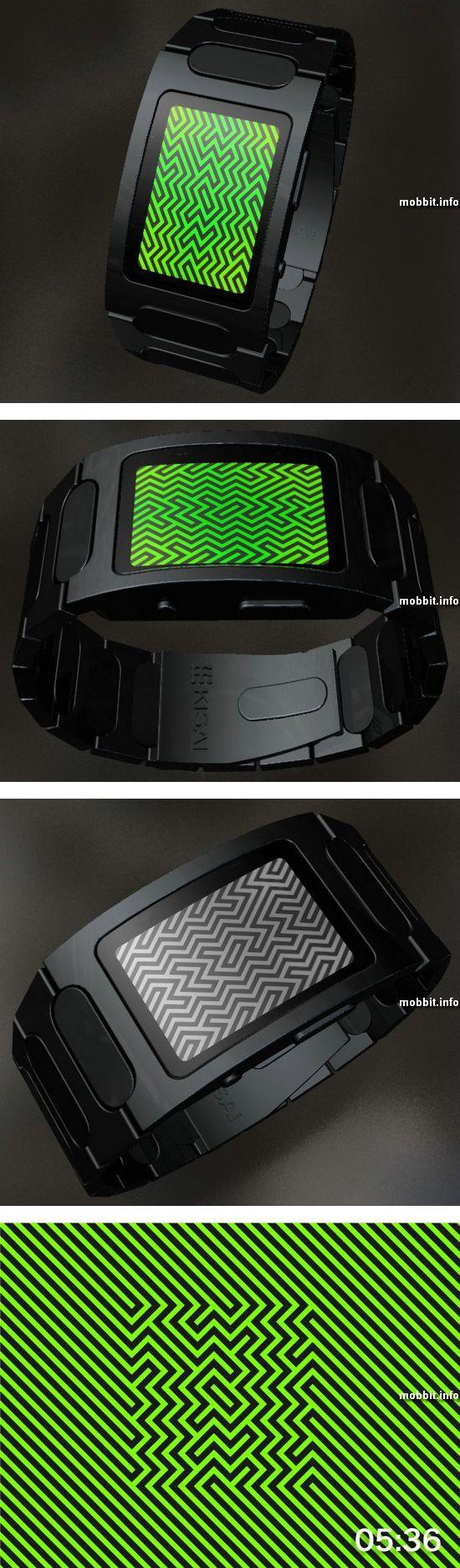 Концепт LED-часов Tokyoflash