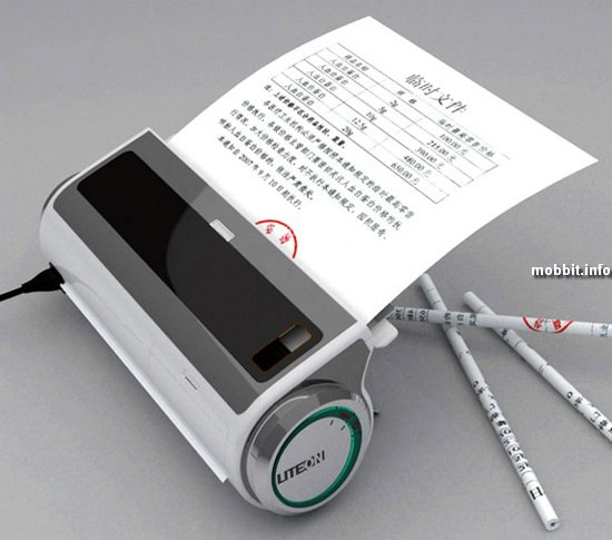 Девайс, превращающий бумагу в карандаши