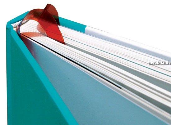 Очередная идея для книголюбов от дизайнера Hyeon Joo Lee.  Эта умная закладка автоматически становится на ту страницу...