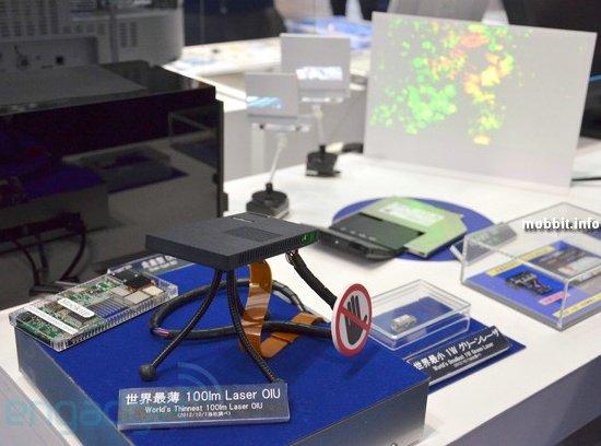 Самый тонкий лазерный проектор в мире