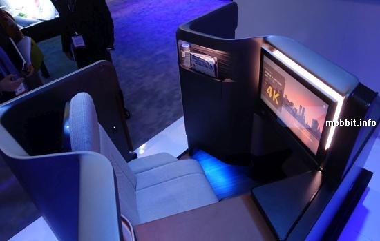 Panasonic Airplane Seat