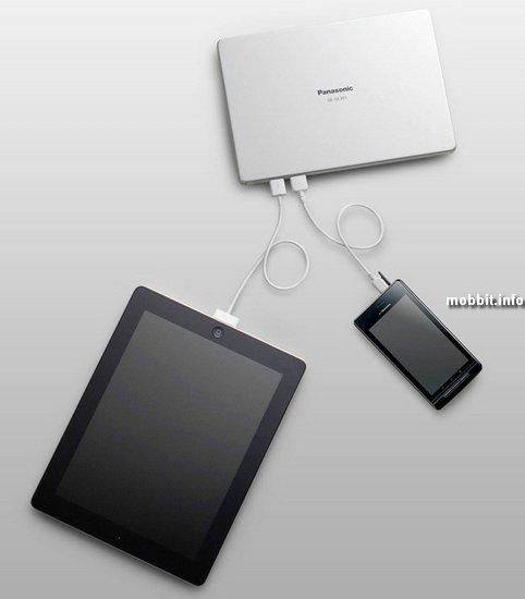 Портативное зарядное устройство Panasonic для USB-гаджетов