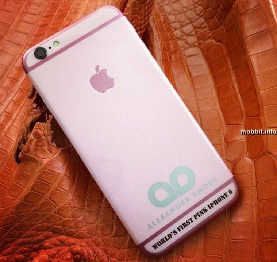 Розовый iPhone 6