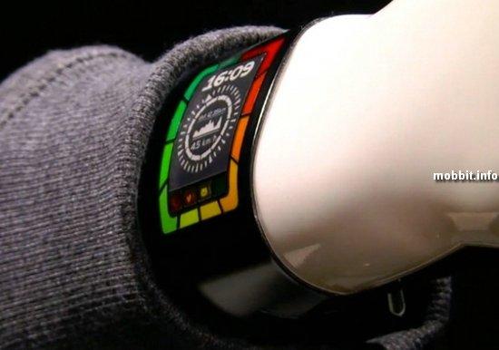 Супертонкие «умные» часы с цветным дисплеем на базе электронных чернил