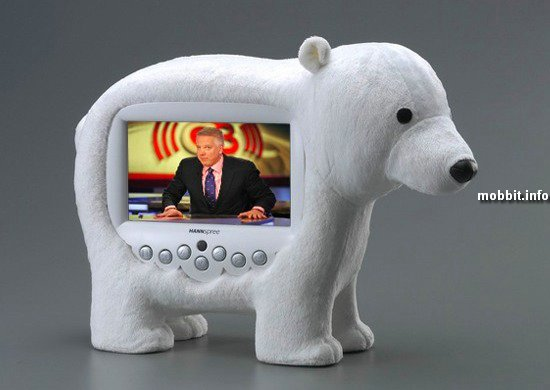 «Плюшевый» телевизор