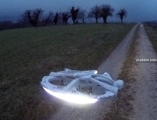 Радиоуправляемая копия «Тысячелетнего сокола» из «Звездных войн»
