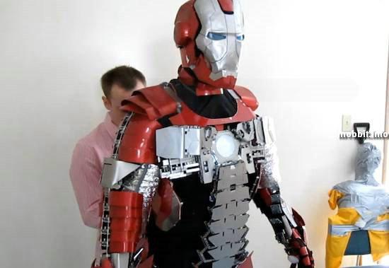 Самодельный костюм Железного человека