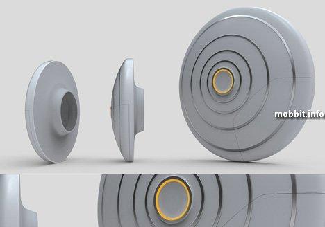 Концептуальная Bluetooth-гарнитура
