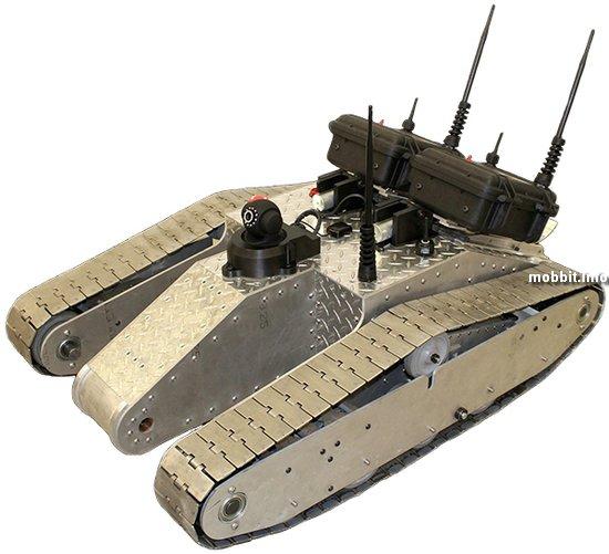 Радиоуправляемый танк и мобильный WiFi-хотспот в одном