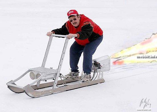 санки rocket sled