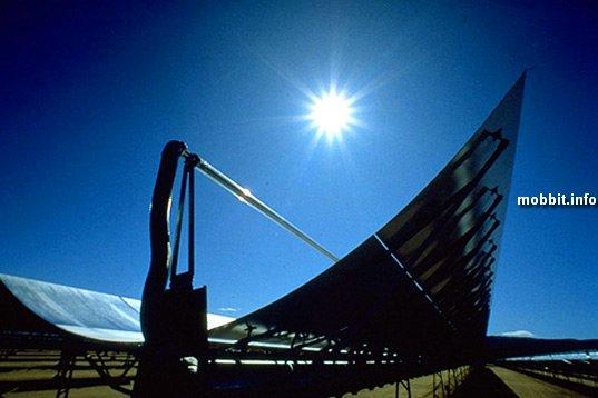 Солнечные электростанции в Сахаре