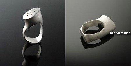 Солонка и перечница - кольцо