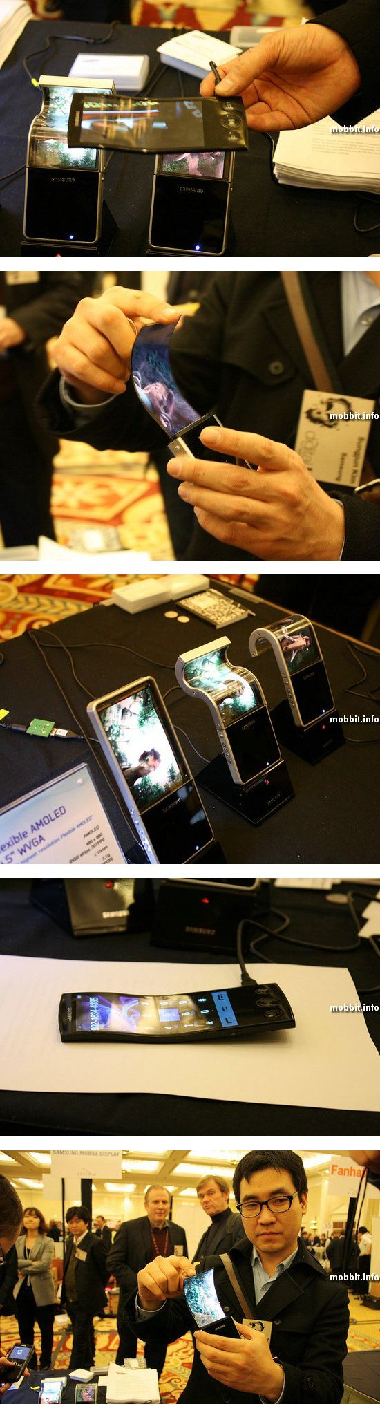 Гибкий AMOLED-дисплей Samsung