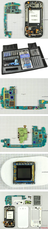 Samsung Galaxy S III разобран по частям