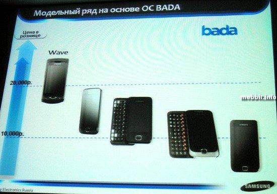 Новые смартфоны на Bada