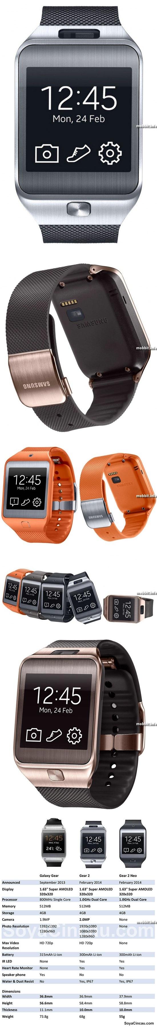 Samsung Gear 2 и Gear 2 Neo