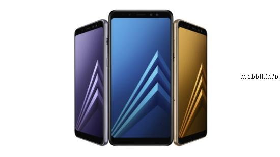Samsung Galaxy A8 и A8+