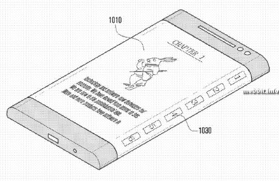 """Samsung готовит смартфон, """"обернутый дисплеем"""""""