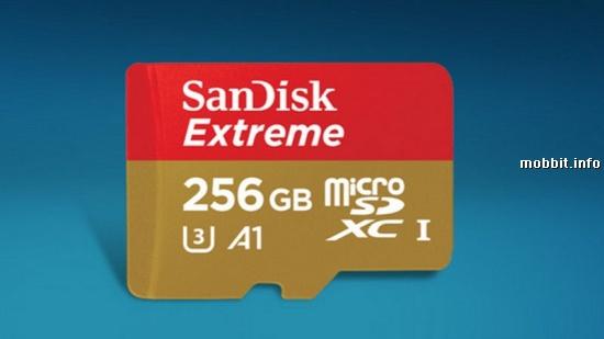 256GB SanDisk Extreme microSDXC