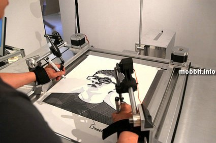 Робот для создания автопортретов