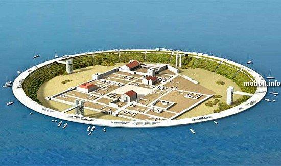 Севтополис -  город на дне озера