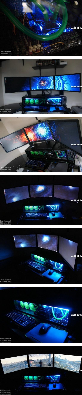 Моддинг: компьютерный корпус и стол из нестандартного материала