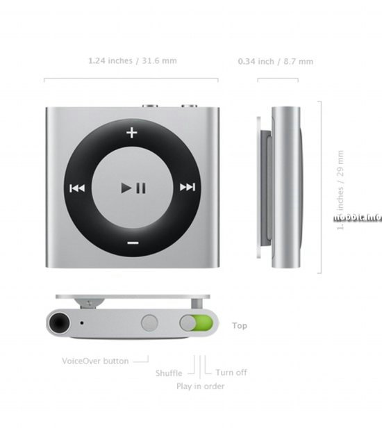 iPod Shuffle 2010 года