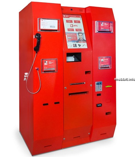 Уникальный автомат для продажи SIM-карт российского производства